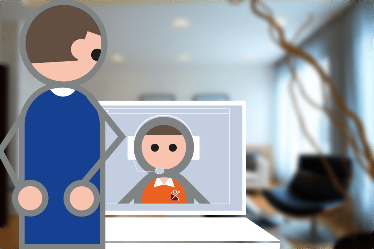 Logiciel de gestion service à la personne - support en ligne en