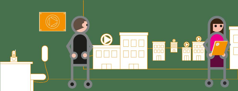 Réseaux et grands compres - services à la personne