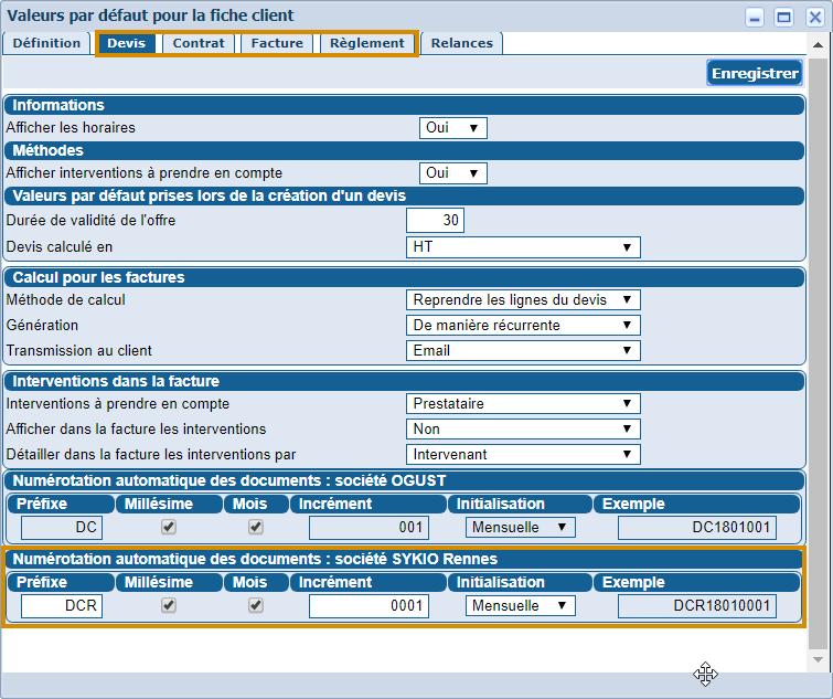 Gérer 2 activités avec Ogust : Export comptable multi-société