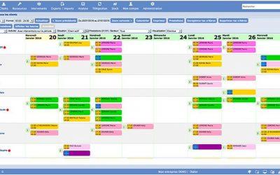 Logiciel planning : Ogust est le N°1 de la planification simple et avancée