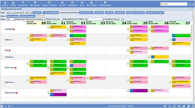 logiciel planning Ogust