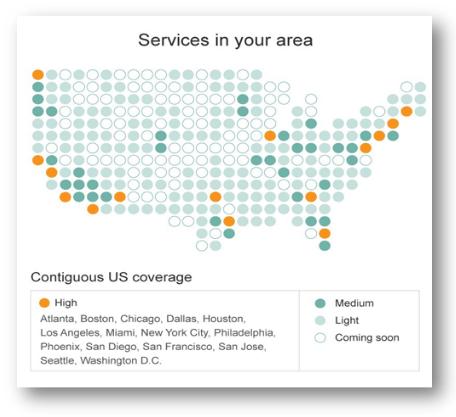 Service aux US